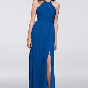 Royal blue bridesmaid/prom dress